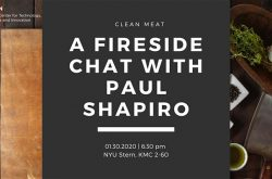 Clean Meat – a Fireside Chat with Paul Shapiro, CEO of The Better Meat Co.