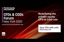 Private Equity International CFOs & COOs Forum New York 2020