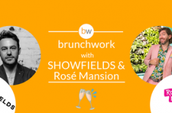 Retail brunchwork w/ SHOWFIELDS & Rosé Mansion