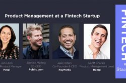 Product Management at a Fintech Startup